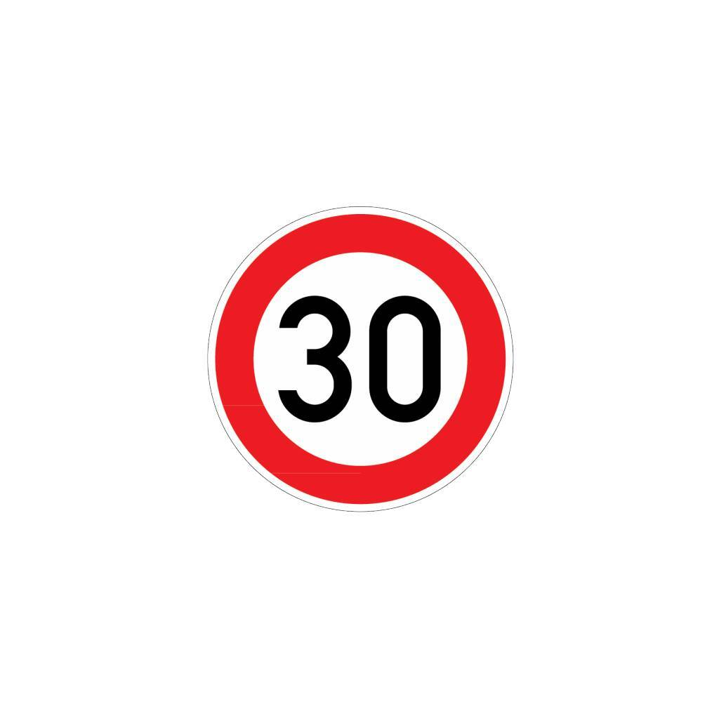 Verkehrsschilder Sticker Drsticker