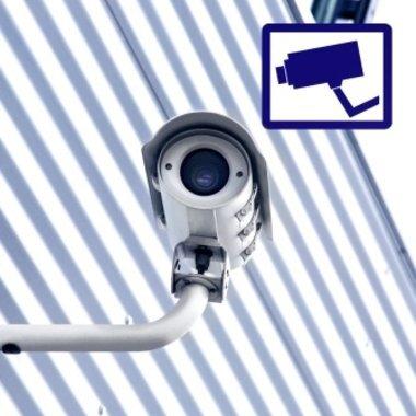 Überwachung- und Sicherheitssticker