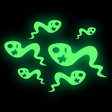 Glow in the dark Sticker