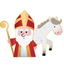 Heilige und Pferd