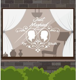 Hochzeitstag - Rahmen Paar 1