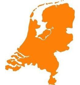 Niederlande als Landkartensticker