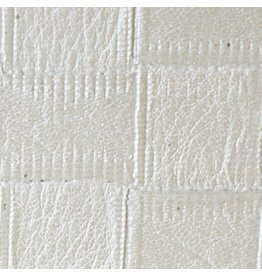 Innenfilm White Leather Weave