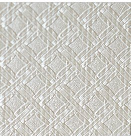 Innenfilm White Weave Squares